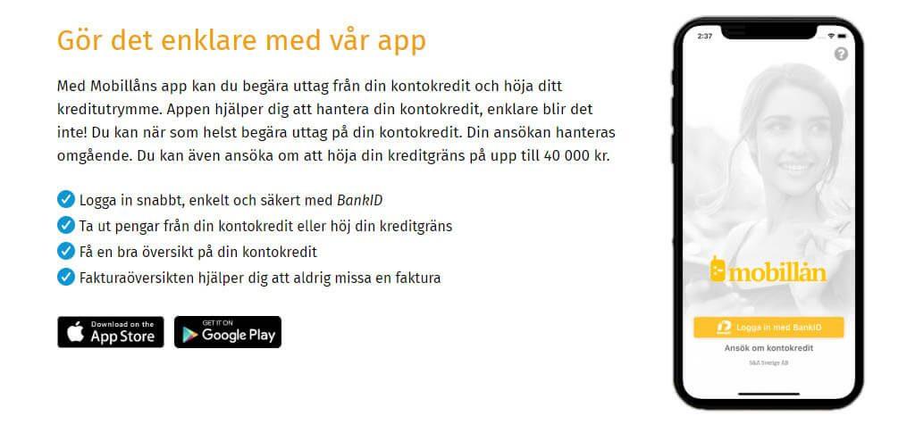 mobillån app