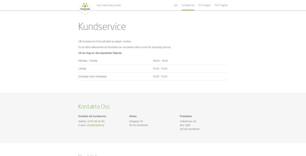 frogtail-kundservice