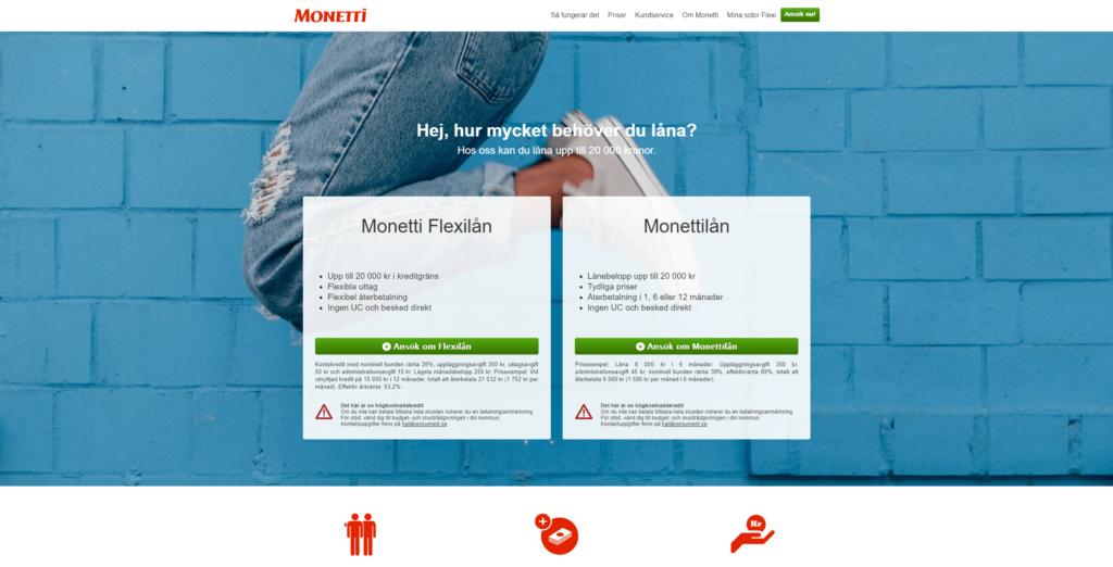 monetti-homepage